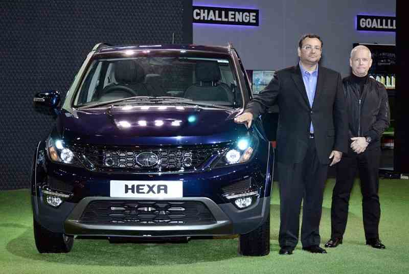 Tata Hexa 7 Seater unveiled at auto expo