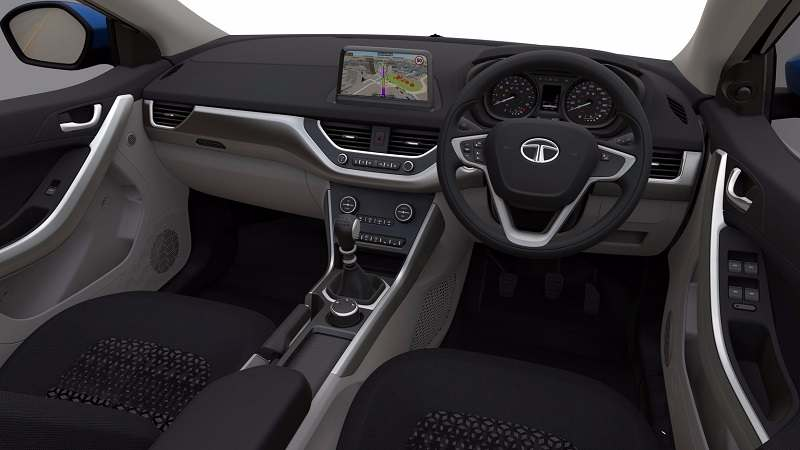 2017 Tata Nexon SUV interior