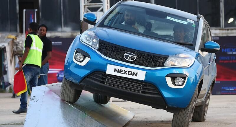 Tata Nexon Front View Off-road