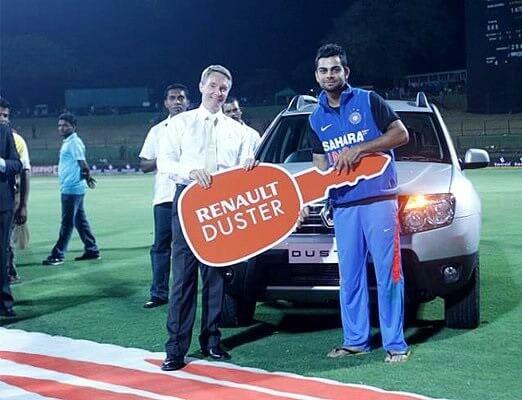 Virat Kohli's Renault Duster