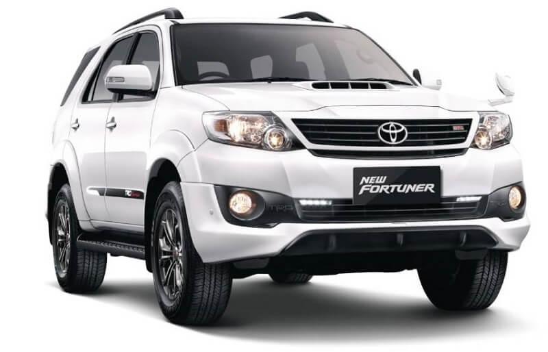 Virat Kohli's Toyota Fortuner