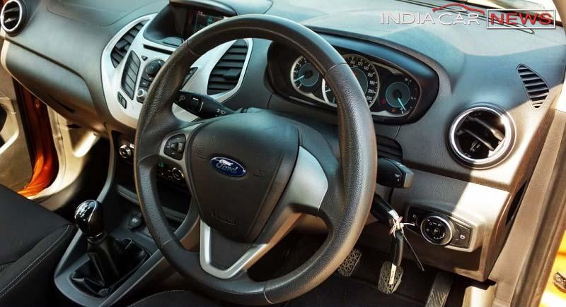 2016 Ford Figo Review Interior