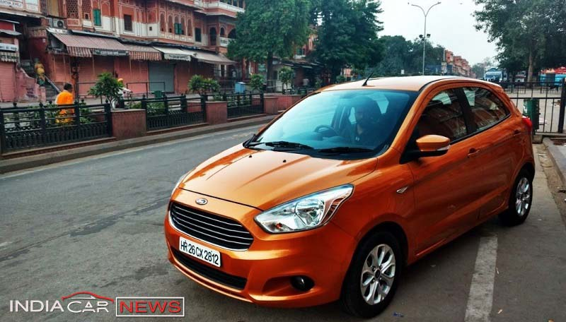 2016 Ford Figo Review road pic