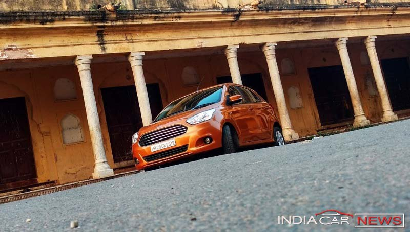 2016 Ford Figo review front-side pic