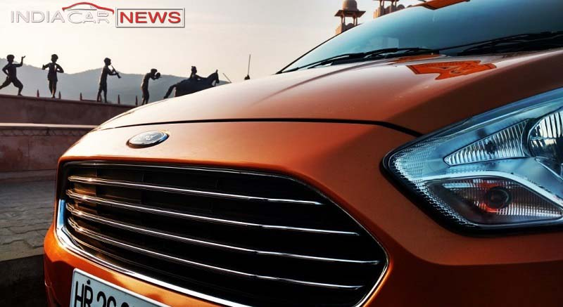 2016 Ford Figo review - grille