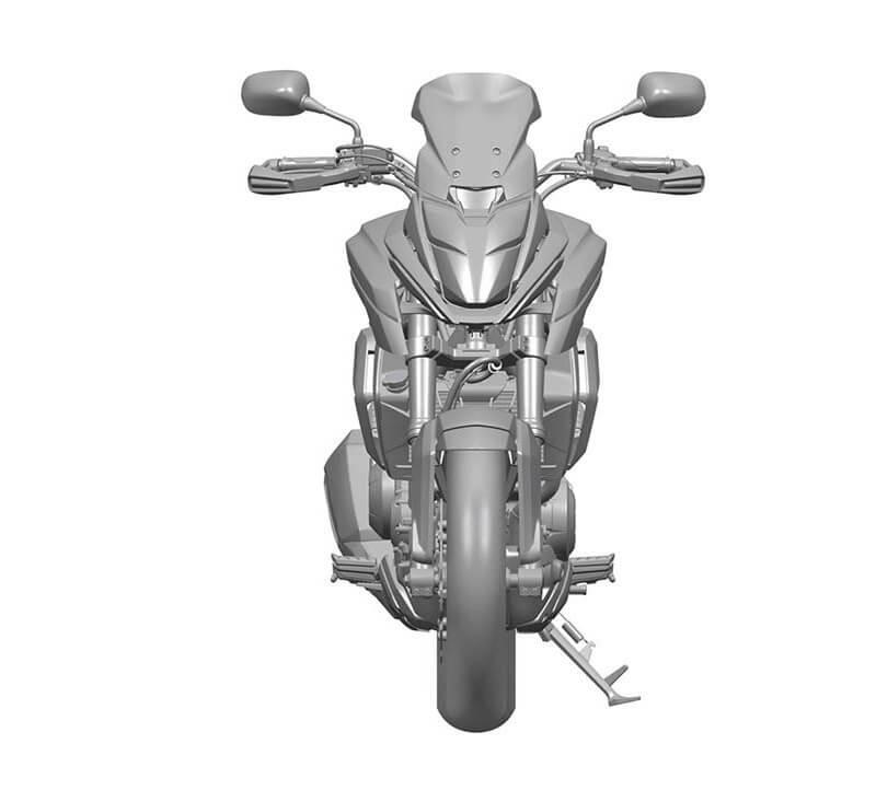 Honda CMX500 India front