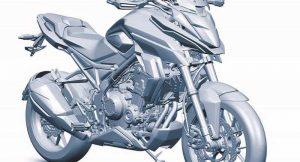 Honda CMX500 India side profile