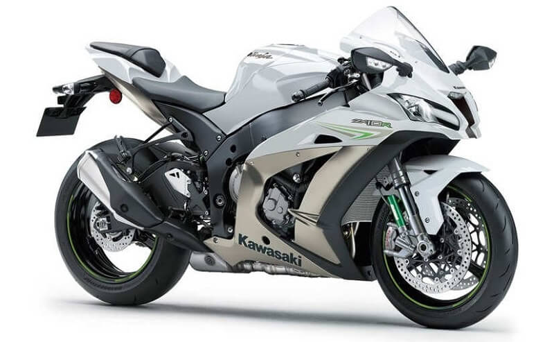 2017 Kawasaki Ninja ZX 10R White colour