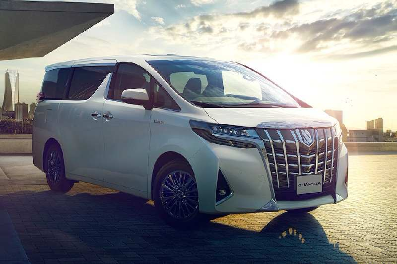 2018 Toyota Alphard India Specifications