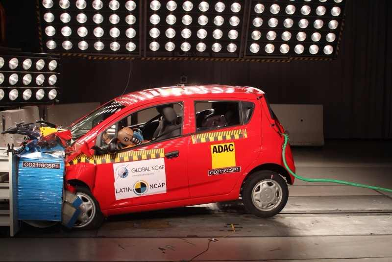 Chevrolet Beat India Spark GT Latin NCAP