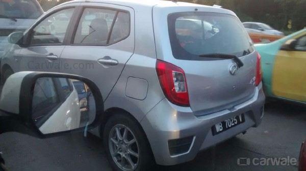 Daihatsu Ayla spy shot rear