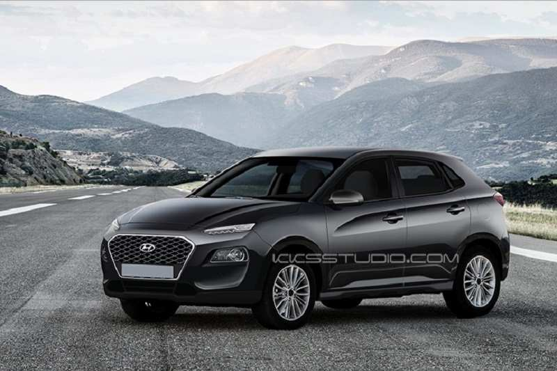 Hyundai i20 SUV Rendered Image