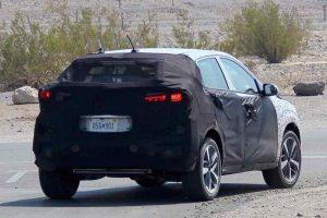 Hyundai i20 SUV Spied Rear