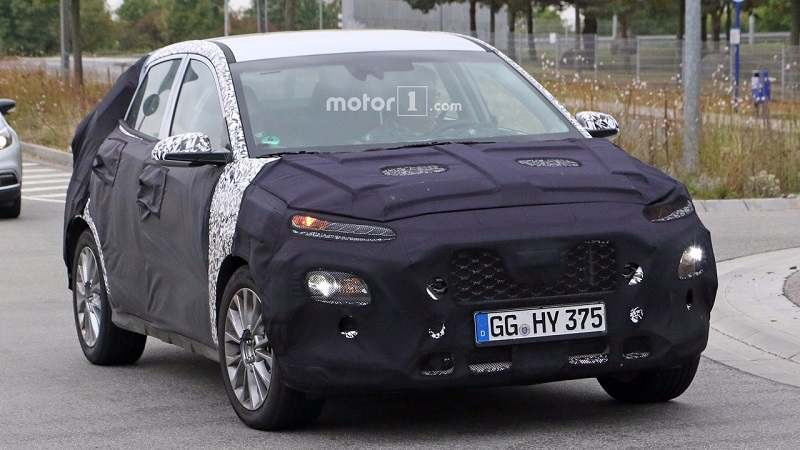 Hyundai i20 based new SUV Spyimage