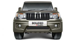 Mahindra Bolero Power+ Front