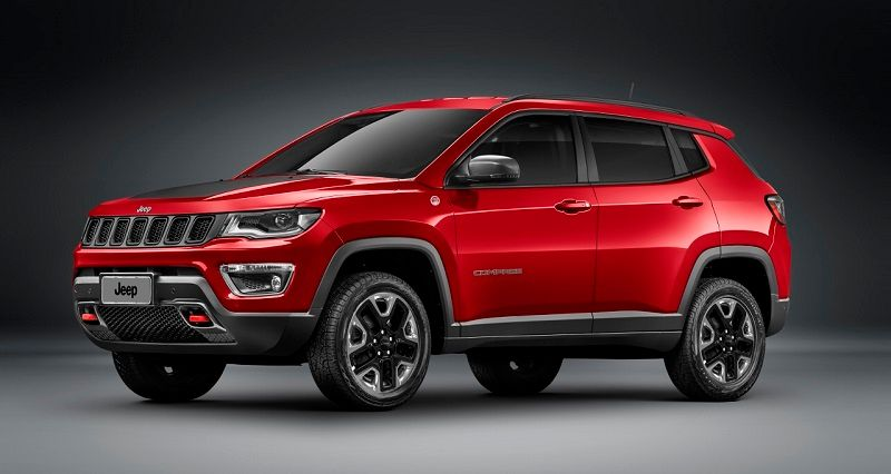 New Jeep Compass Front Three Quarter