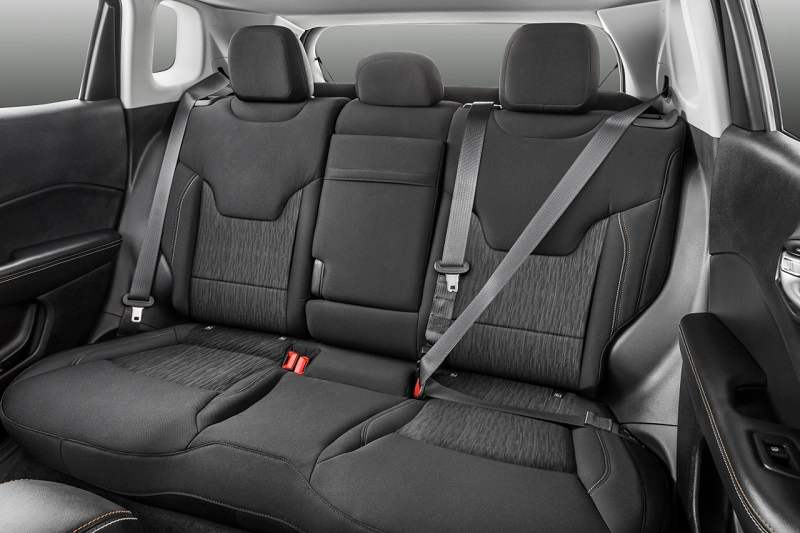 New Jeep Compass Rear seats