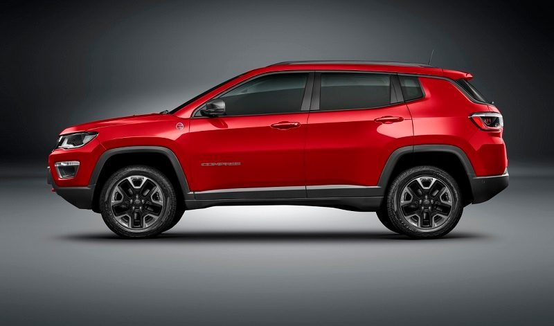 New Jeep Compass Side Profile