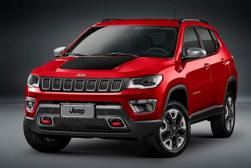 New Jeep Compass Headlamps