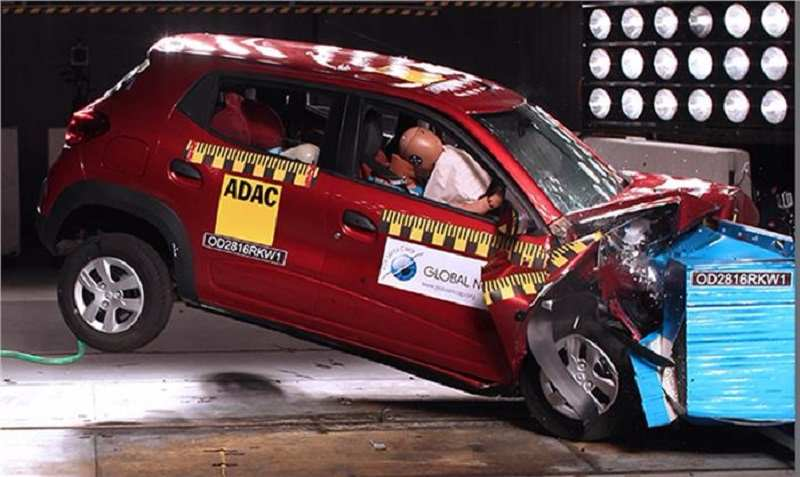 Renault Kwid Global NCAP Crash Test