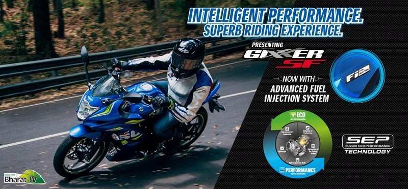 Suzuki Gixxer SF FI edition