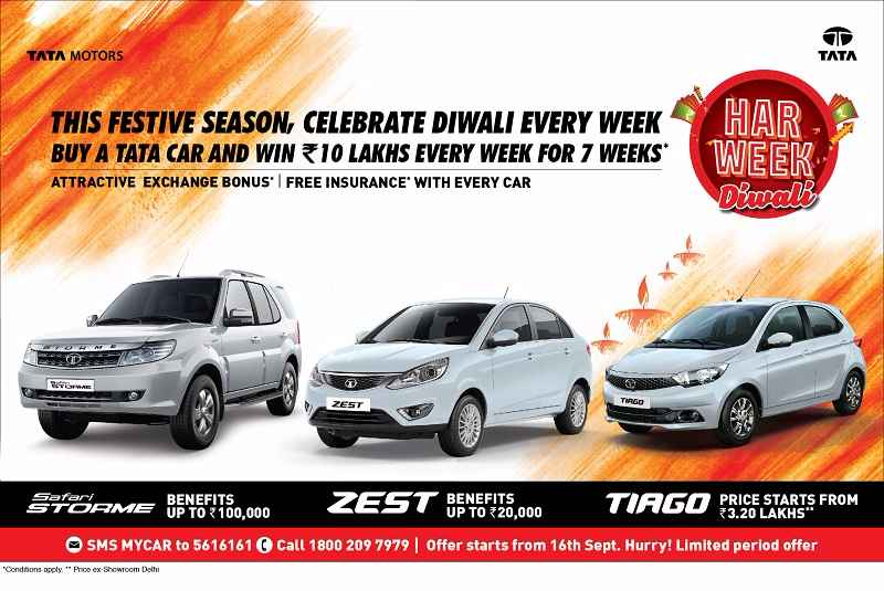 Tata Motors Har Week Diwali Offer