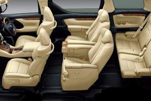 Toyota Alphard MPV interior
