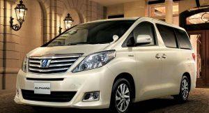 Toyota Alphard MPV India
