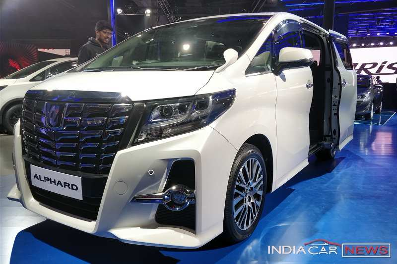 2018 Toyota Alphard Hybrid MPV India Launch, Price, Specs, Features
