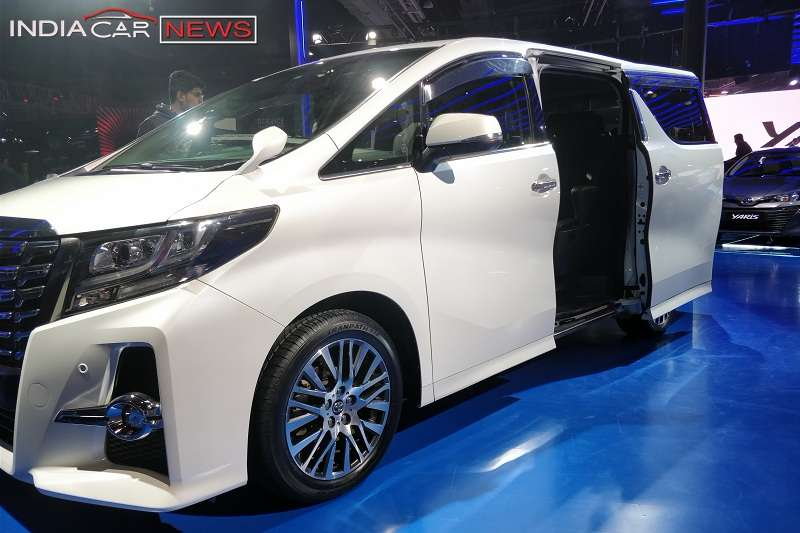 Toyota Alphard India MPV