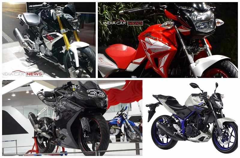 Upcoming 200cc and 300cc bikes