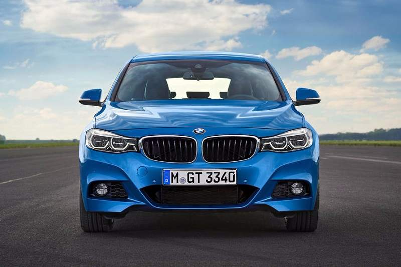 2016 BMW 3 Series GT India Front