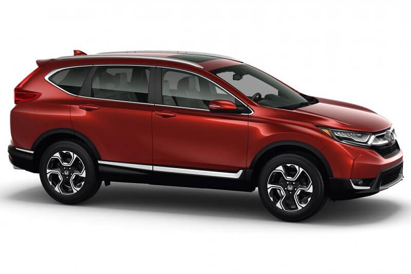 2017 Honda CRV Side profile