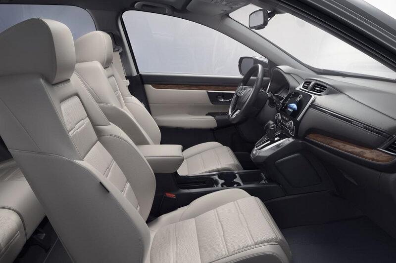 2017 Honda CRV Beige Interiors
