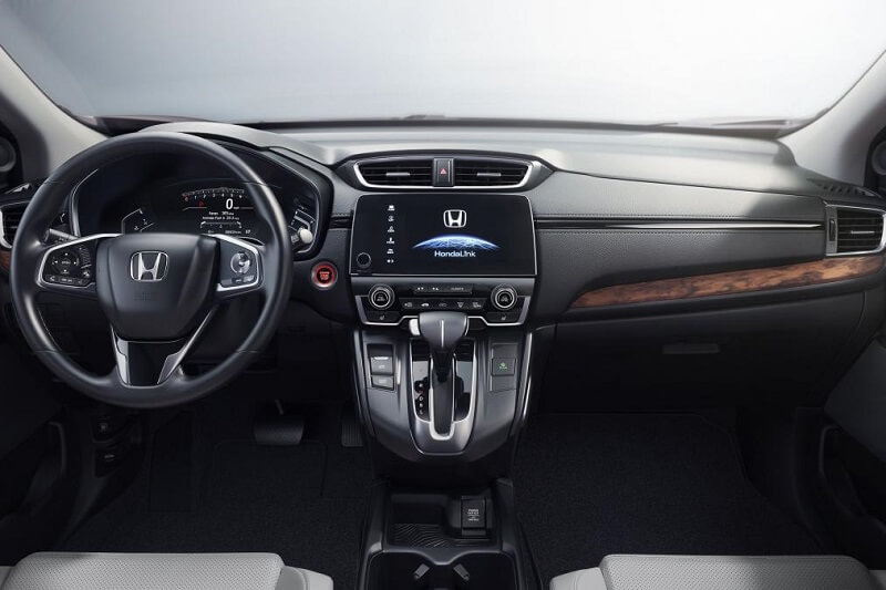 2017 Honda CRV Dashboard