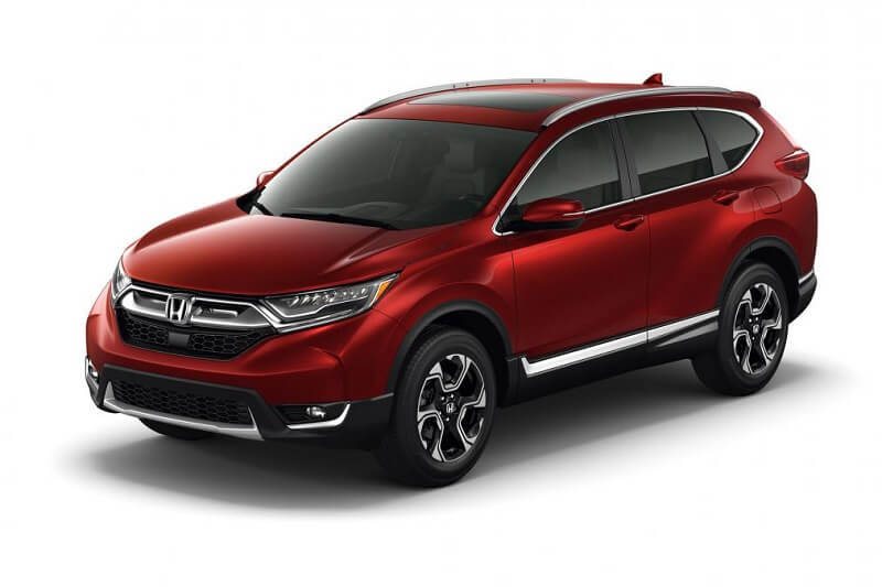 2017 Honda CRV Front Three Quarter