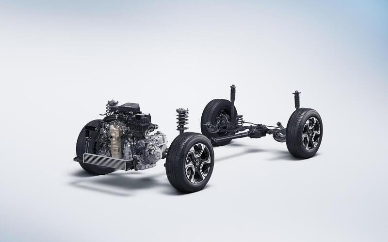 2017 Honda CRV Platform