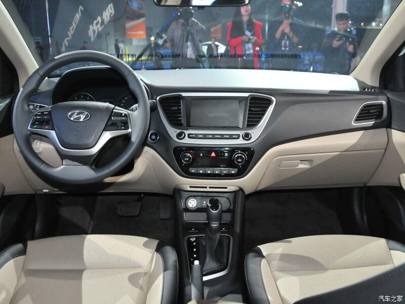 2017 Hyundai Verna Hatchback Interior