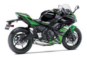2017 Kawasaki Ninja 650 Rear Side