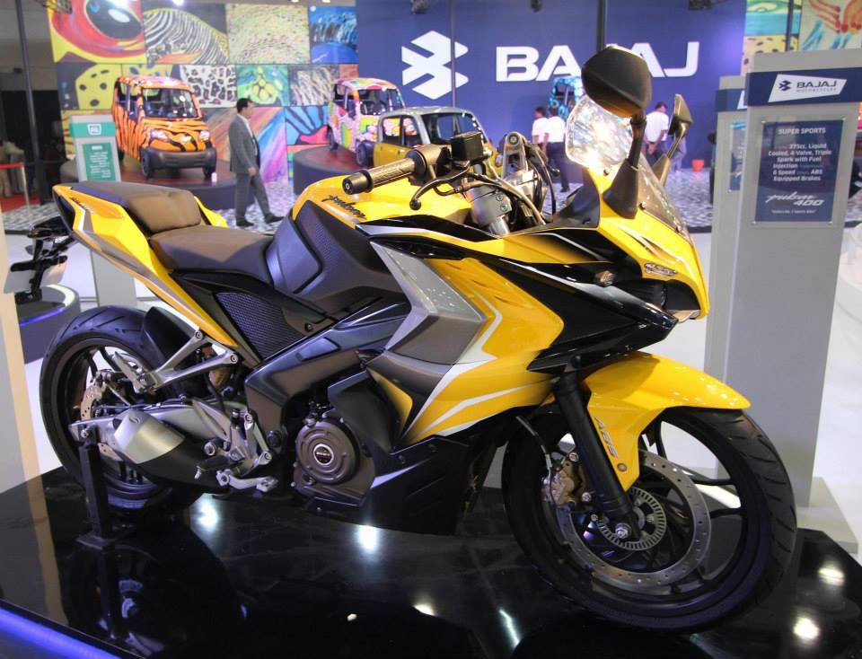 Bajaj Pulsar RS400 concept bike