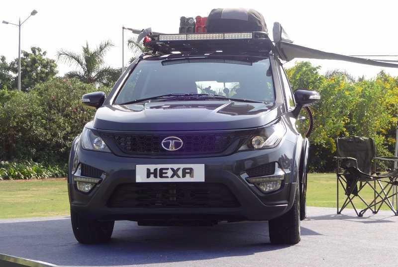 Tata Hexa Tuff Front