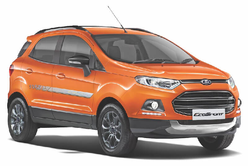 new ford ecosport black signature edition price specifications images. Black Bedroom Furniture Sets. Home Design Ideas