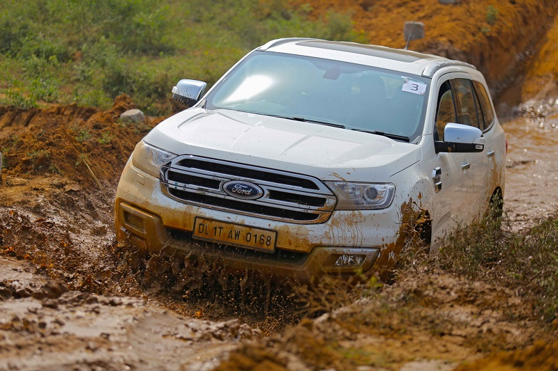 Ford Endeavour 2018 off road Review
