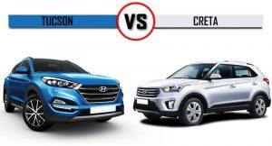 Hyundai Tucson Vs Creta