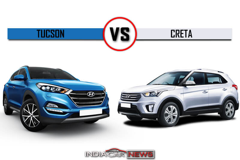 Hyundai Tucson Vs Creta Price Specifications Mileage