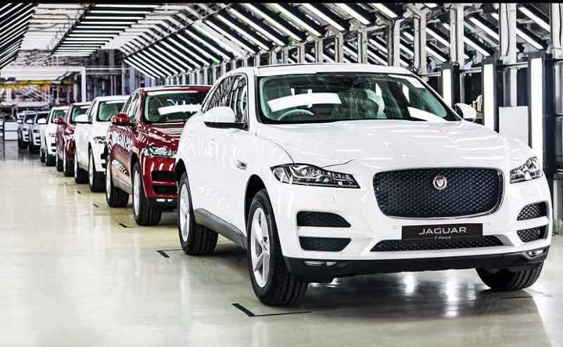 Jaguar F Pace Assembled in India
