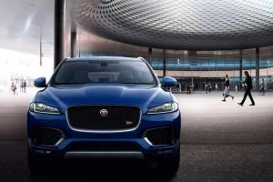 Jaguar F Pace SUV Front