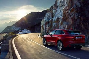Jaguar F Pace SUV Rear
