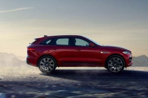 Jaguar F Pace SUV Side