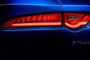 Jaguar F Pace SUV Taillamp